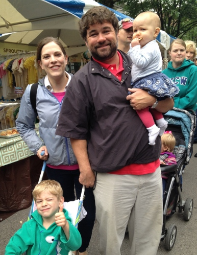 Mark Campen & family