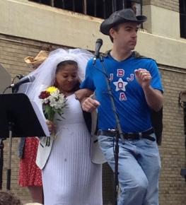 "Valerie Coleman sings with Jimmy: ""Royal Redneck Wedding"""