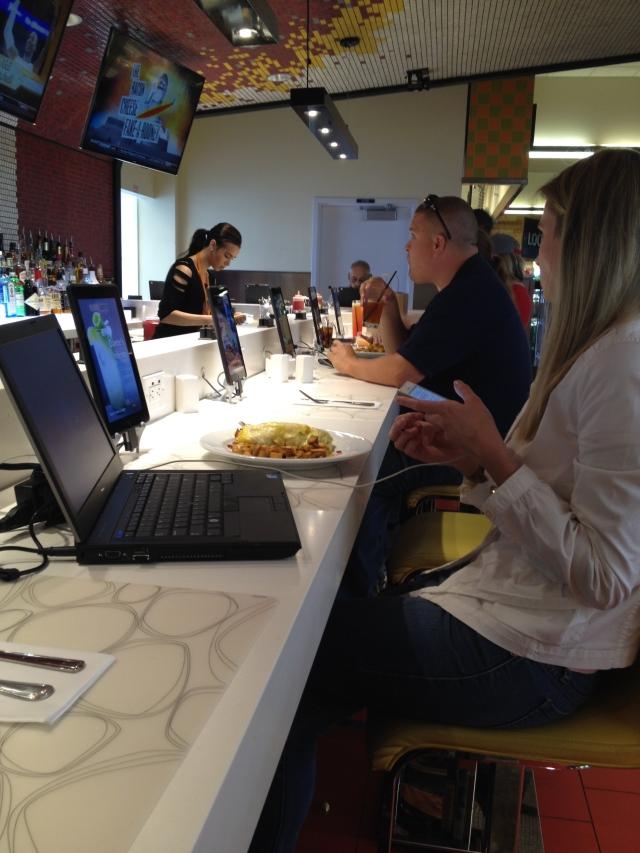 Techie breakfast at MSP