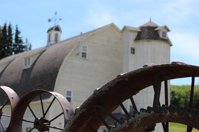 Dahmen Barn, Uniontown, Washington