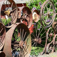 Art on the Palouse:  Uniontown's Artisans at the Dahmen Barn