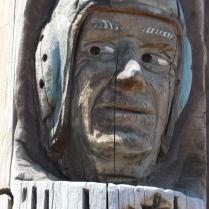 Close-up, Codger Pole