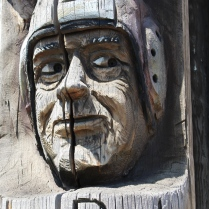 Codger Pole Face