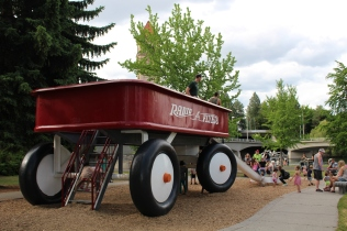 Spokane's Red Wagon
