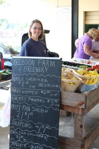 Restaurant fare sold at Decatur Farmers Market