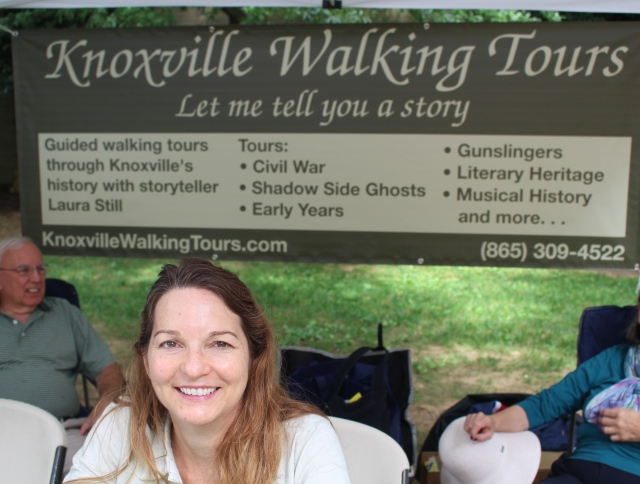 Laura Still of Knoxville Walking Tours