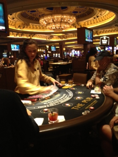 Casino at night