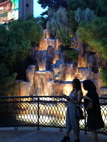 Waterfall -- Wynn Las Vegas