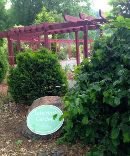 Labyrinth Gardens at UT