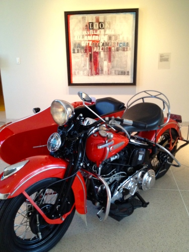 Art and motorcycles