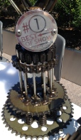 Trophy for KMA Vintage Motorcycle Show