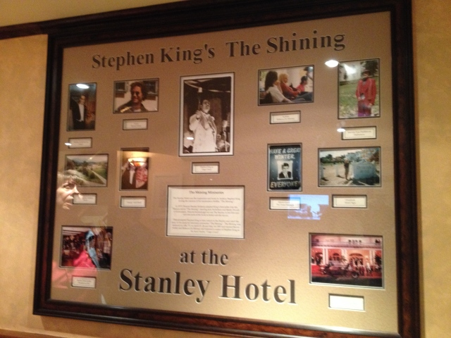 Photos from the filming of The Shining at The Stanley Hotel