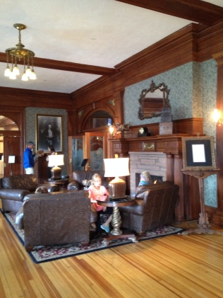 Lobby, The Stanley Hotel