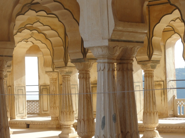 Arches at Amer Fort