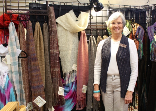 Marie Clingan of Tuesday Weavers