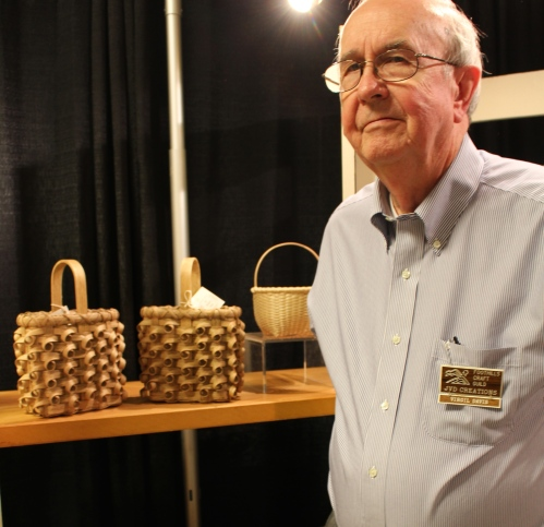 Virgil Davis, basketry