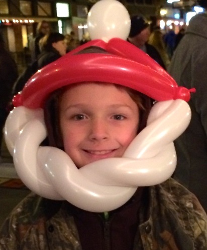 Balloon Santa face, Knoxville