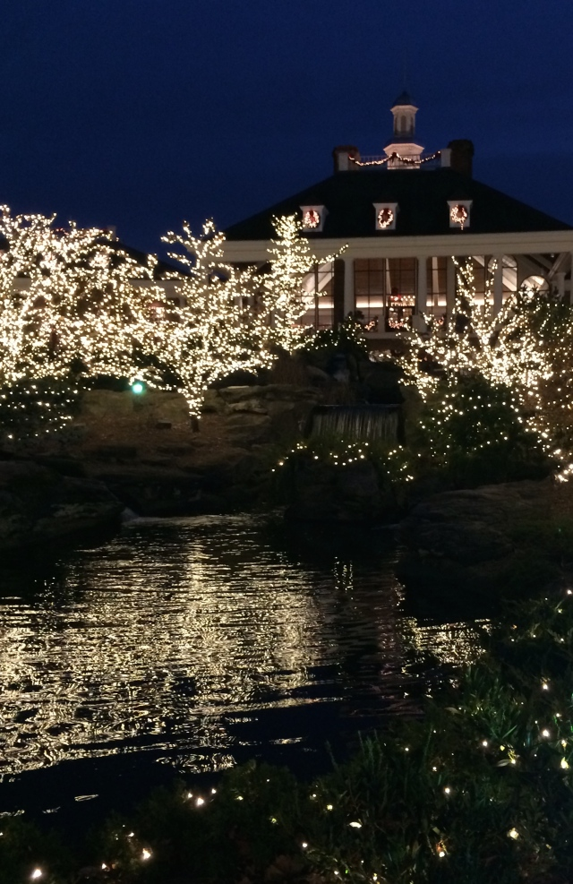 Opryland Hotel by night