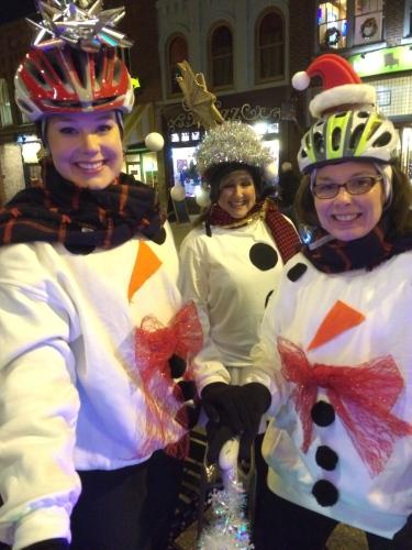 Snow women -- Tour de Lights 2014