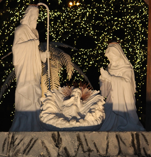 Nativity at Gaylord Opryland Hotel, Nashville, Tennessee