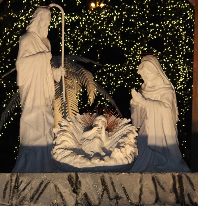 Nativity at Gaylord Opryland Hotel, Nashville, Tennessee