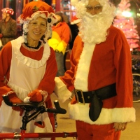 Bike it and shine on:  Knoxville's Tour de Lights 2014