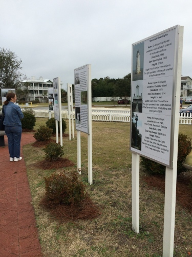 Descriptions of previous lighthouses at Tybee
