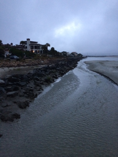 Early morning dawn at Gould's Inlet, St. Simons Island