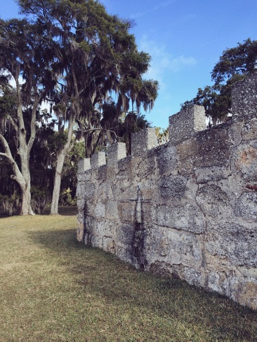Remains of Fort Frederica