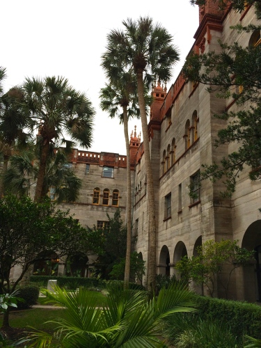 Courtyard of the Lightner Museum, St. Augustine