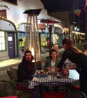 Dining out on Aviles Street