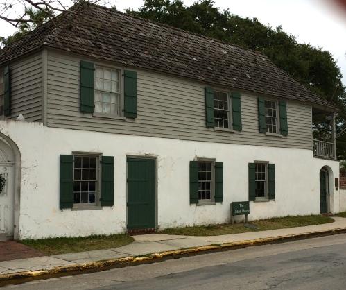"Gonzalez-Alvarez House, ""the Oldest House"" in St. Augustine"