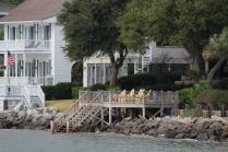 Homes along the water: St. Simons Island