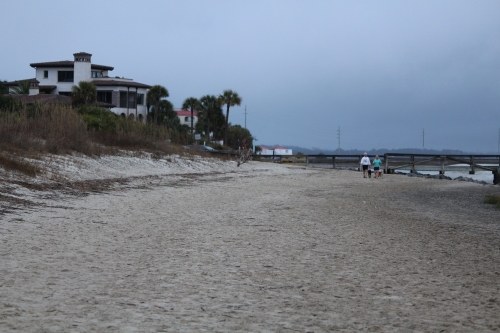 Walking the beach at Gould's Inlet