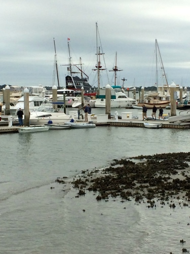 Harbor scene, St. Augustine
