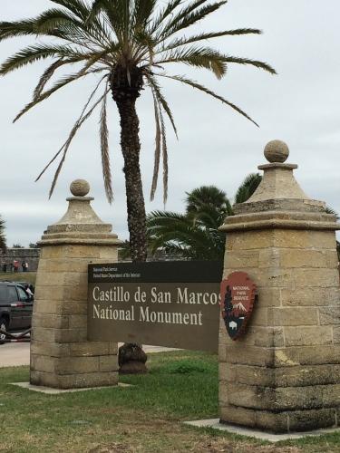 Marker --  Castillo de San Marcos