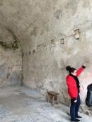 Inspecting the walls -- Castillo de San Marcos