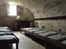 Temporary resting places -- Guard Rooms of Castillo de San Marcos