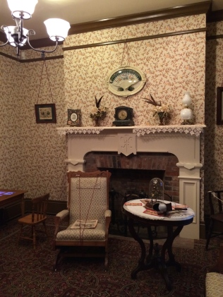 Harn family parlor -- St. Augustine lightkeeper's house