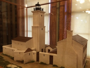Model of The Watchtower, Florida's first official lighthouse