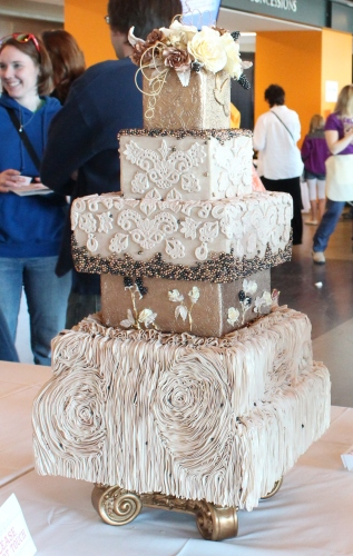 Great detail in this cake depicting the book Caps for Sale by Esphyr Slobodkina