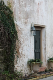 Doorway of private residence, St. Augustine