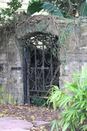 Lovely old grillwork on a gate in St. Augustine