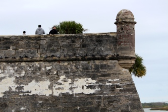 Corner detail -- Castillo de San Marcos