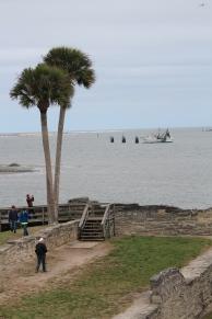 Matanzas Bay as seen from Castillo de San Marcos