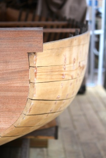 Wooden boat joints