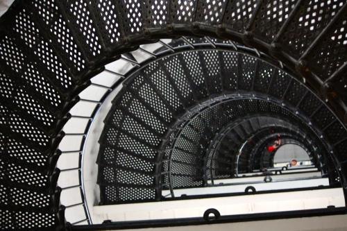 View of the stairwell -- St. Augustine Lighthouse