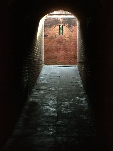 Tunnel walkway, Fort Clinch, Amelia Island