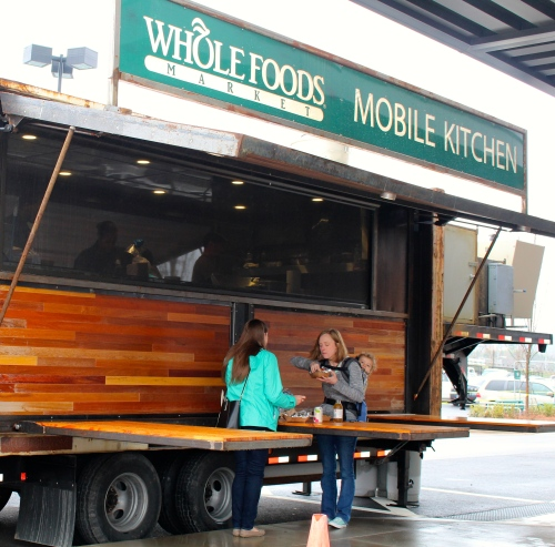 Serving lunch during pre-opening tour days:  Whole Foods Knoxville