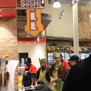 Getting the sushi department up and running: Whole Foods Knoxville